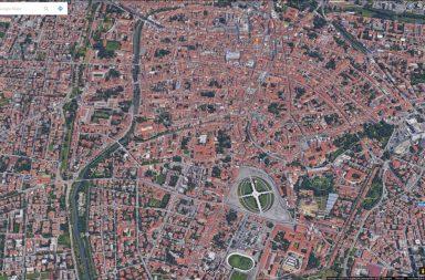 Padova da Google Maps, anno 2017